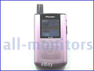 Pioneer GEX-Inno1/inno pink body color XM Satellite Radio/Xm2go Receiver