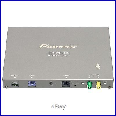 Pioneer GEX-P910XM XM Car Digital Satellite Radio TunerUsedCables&Manual