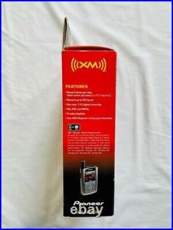 Pioneer Inno XM2go Portable Satellite Radio and MP3 Player GEX-INNO2BK. New
