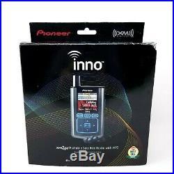 Pioneer Inno xm2go Portable Satellite Radio MP3 GEX-INN01 XM V1.05 1.05 New Open