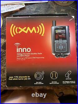Pioneer XM Inno Xm2go Portable Satellite Radio And Mp3 Player Gex-inno2bk