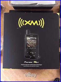 Pioneer XMp3 Portable SM Satellite Radio & MP3 Player GEX-XMP3 New
