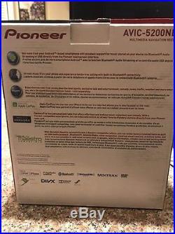 Pioneer avic-5200nex Head Unit Navigation, apple Car Play, And More