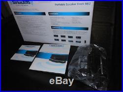 Portable Speaker Dock Sound System Model # SXABB2 for SIRIUS XM Radios NEW BOX