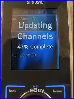 Possible LIFETIME ACTIVATED SIRIUS STILETTO SL10 RECEIVER, Remote ONLY AS IS EUC