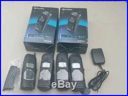 Qualcomm Globalstar GSP1600 Tri-Mode Portable Handheld Satellite Phone, Lot of 4