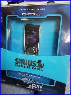 RARE Sirius Stiletto 100 Car Home Satellite Radio Receiver SL100PK1 -Brand New