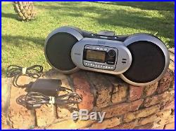 Rare Lifetime Subscription Sirius Sportster Sp-b1 Sp-r1 Boombox Receiver Radio