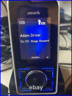 Read Activated Sirius Stiletto Sl100 Replacement Receiver + Remote Only Sl 100