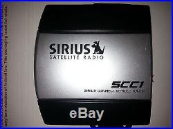 SCC1 SIRIUS CONNECT SATELLITE RADIO VEHICLE CAR BOAT TUNER SC-C1 XM FREE SHIP