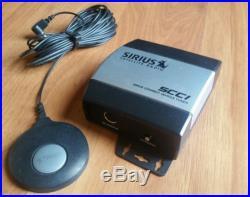SCC1 SIRIUS XM CONNECT SATELLITE RADIO VEHICLE CAR TUNER SC-C1 With ANTENNA