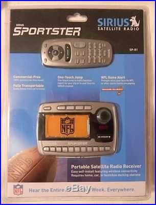 SEALED UNOPENED Sirius Sportster SP-R1 Pre FCC 87.7 FM