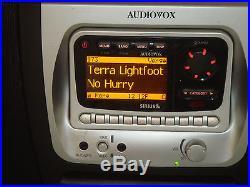 Sirius Audiovox Sirpnp2 Radio Receiver Sir-bb1 Boombox Activated