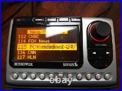 SIRIUS Audiovox SIR-PNP3 XM radio withCar kit ACTIVE LIFETIME SUBSCRIPTION