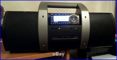 SIRIUS BOOMBOX SUBX1& RADIO RECEIVER ST5 STARMATE ACTIVATED