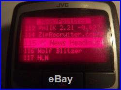SIRIUS JVC KT-SR1000 satellite radio receiver With Home kit LIFETIME SUBSCRIPTION