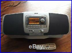 SIRIUS Orbiter SR4000 XM radio receiver WithBoombox, remote- LIFETIME SUBSCRIPTION