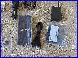 SIRIUS S50 PERSONAL SATELLITE RADIO w Car Kit & Remote Lifetime Subscription