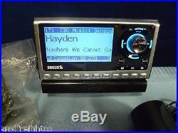 SIRIUS SATELLITE RADIO SPORTSTER 4 with LIFETIME SUBSCRIPTION CAR INSTALL KIT