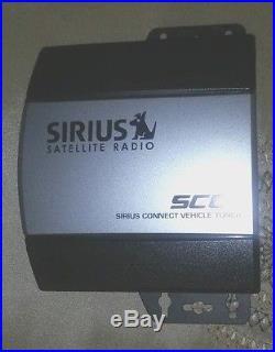 SIRIUS SCC1 CONNECT SATELLITE RADIO VEHICLE CAR TUNER XM SC-C1