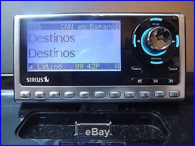 SIRIUS SP4 Sportster 4 XM satellite radio Receiver Only-LIFETIME SUBSCRIPTION