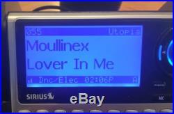 SIRIUS SP4 XM satellite radio SUBX1BoomBox Lifetime Subscription Mint Free Ship