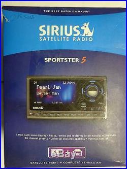 SIRIUS SP5R Sportster 5 XM Satellite Radio LIFETIME SUBSCRIPTION