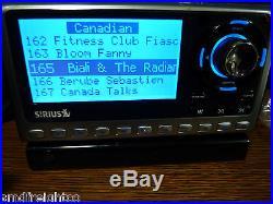 SIRIUS SPORTSTER 4 SATELLITE RADIO with LIFETIME SUBSCRIPTION CAR INSTALL KIT