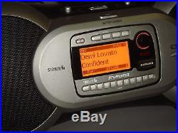 SIRIUS SPORTSTER SP-R1R RECEIVER SP-B1 BOOMBOX ACTIVATED