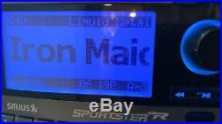 SIRIUS SPORTSTER SP-R2R SATELLITE RADIO Lifetime Subscription HOME & AUTO Mount