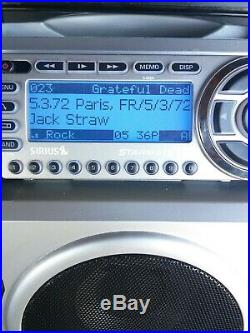 SIRIUS ST2R Starmate R radio receiver With Bombox Active LIFETIME SUBSCRIPTION