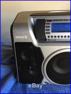 SIRIUS ST2 Starmate 2 XM satellite radio WithBoomBOX + LIFETIME SUBSCRIPTION
