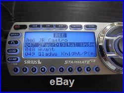 SIRIUS ST2 Starmate 2 XM satellite radio WithCar kit LIFETIME SUBSCRIPTION