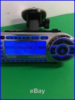SIRIUS ST2 Starmate 2 XM satellite radio WithCar kit, LIFETIME SUBSCRIPTION