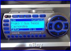 SIRIUS ST2 Starmate 2 satellite radio With Boombox, LIFETIME SUBSCRIPTION