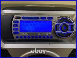 SIRIUS ST2 Starmate Radio Receiver Replay ST-B2 Boombox & Antenna Preowned