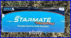 SIRIUS ST2 Starmate Radio Receiver with ST-B2 Boombox (NEW) withActive Subscription