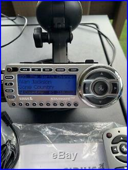 SIRIUS ST2 Starmate Radio With Home & Car kit LIFETIME SUBSCRIPTION GREAT COND