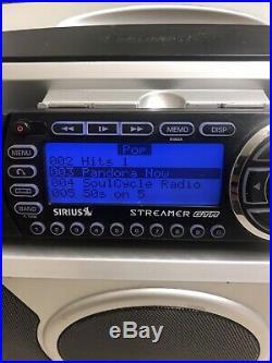SIRIUS ST2-r Starmate 2 satellite radio WithBoombox, Remote, Lifetime Subscription