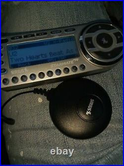 SIRIUS ST2-r Starmate 2 satellite radio WithCar cord Remote LIFETIME subscription