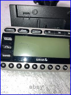 SIRIUS ST4 Starmate 4 XM Satellite radio receiver With Dock, Remote LIFETIME SUB