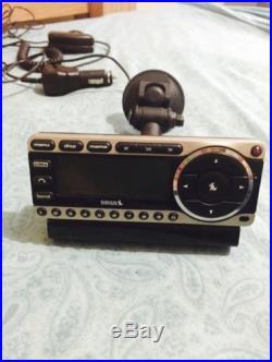 SIRIUS ST4 Starmate XM Satellite Radio Receiver Lifetime Subscription & Car Mate