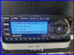 SIRIUS ST5 Starmate 5 Receiver With LIFETIME SUBSCRIPTION & Home Base Radio