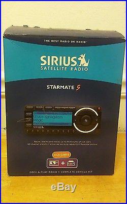 SIRIUS ST5 Starmate 5 XM satellite radio Car Vehicle Kit