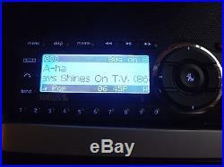 SIRIUS ST5 Starmate 5 satellite radio receiver With boombox LIFETIME SUBSCRIPTION