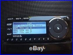 SIRIUS ST7 Starmate 7 XM satellite radio W /boombox LIFETIME SUBSCRIPTION