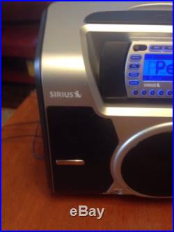 SIRIUS STARMATE 2 ST2 WITH ST-B2 BOOMBOX ANTENNA POWER CORD Working