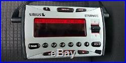 SIRIUS STARMATE satellite radio SIR-ST1 W car kit ACTIVE LIFETIME SUBSCRIPTION