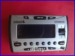 SIRIUS STARMATE satellite radio receiver only SIR-ST1 LIFETIME SUBSCRIPTION