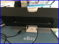 SIRIUS STILETTO 100 SL100 with EXECUTIVE SPEAKER BOOMBOX slex1 SOUND SYSTEM SL EX1